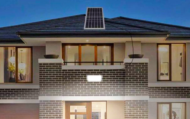 LED Solar Powered Flood Lighting