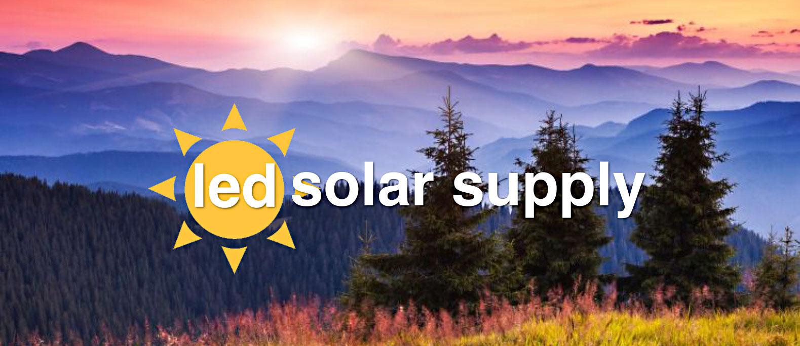 LED Solar Supply Sun Powered Lights