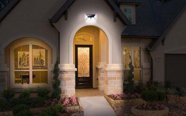 LED Solar Powered Security Lighting