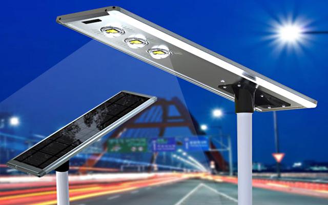 LED Solar Powered Street Lighting