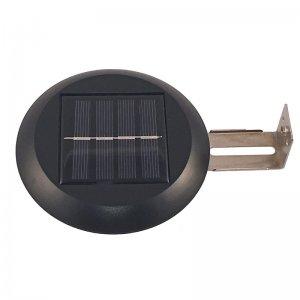 Solar Powered Round Fence Light
