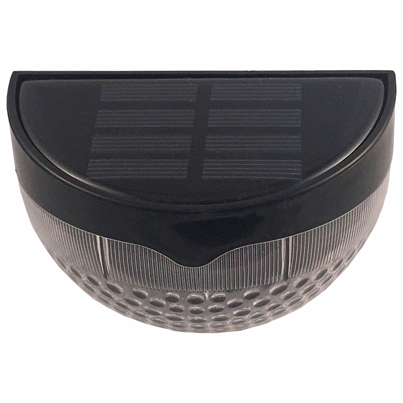 LED Solar Powered Decorative Fence Light, Built In Sensor And Automated Switch, ID-1016