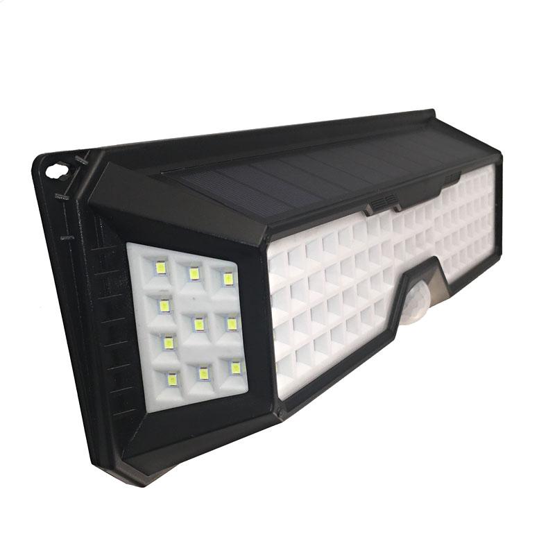 LED Solar Powered Outdoor Light With Motion Sensor, 7 Watts, 136 Super Bright LEDs, 120 Degree Beam Angel, IP65, ID-943