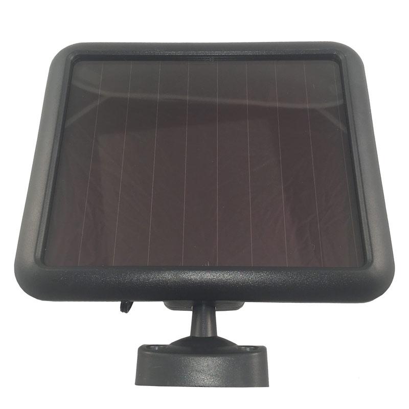 Solar LED Outdoor Security Floodlight Dual Heads Light Sensor