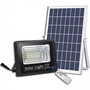 Solar Flood Light With Solar Panel
