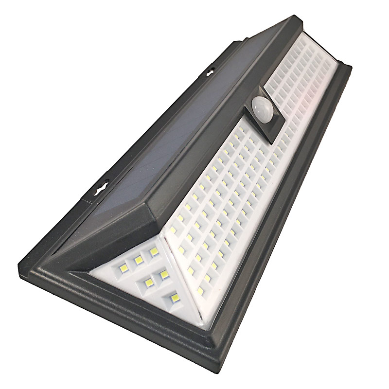 LED Solar Powered 10 Watt Motion Sensor Light, 500 Lumens, Outdoor Motion Detection, 180 Degree Beam Angle, 118 LED's, IP65, ID-958