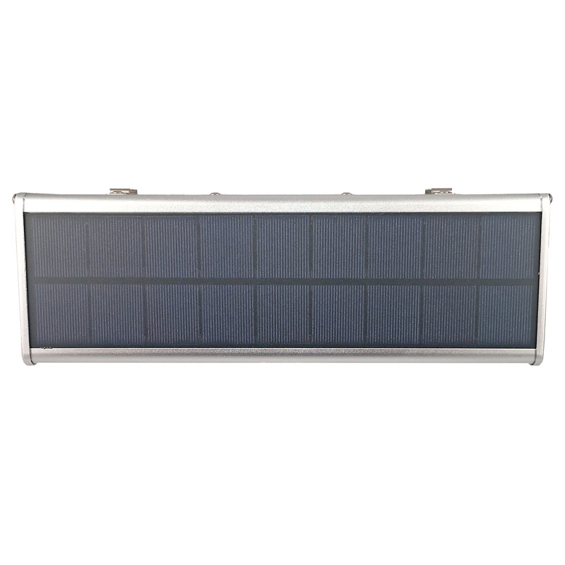 LED Solar Powered High Tech Light, Wide Radar Motion Sensor, 8 Watts, Dimmable, 60 LEDs, IP65, All In One, ID-960