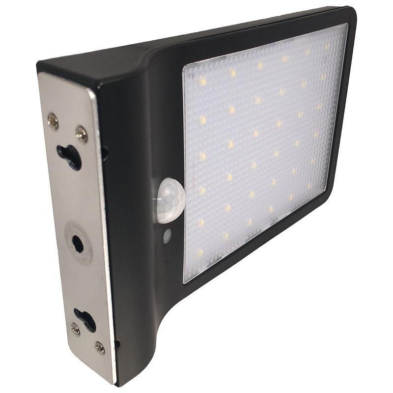 LED Solar Powered 2 Watt, High Tech Wall Light, 280 Lumens, Super Bright, 36 SMD LED's, IP65, UV Resistant, ID-961