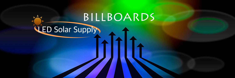 LED Solar Billboard Lights