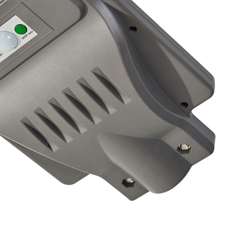 LED Solar 90 Watt Street Light, 6,000 Lumens, All In One, Radar Sensor, 120 LED's, IP66, ID-1011