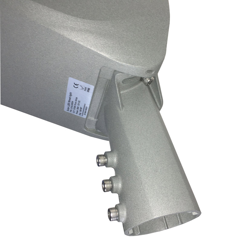 LED Solar Smart Street Light, High Power, 50 Watts, Massive 5000 Lumens, Built in Light and Motion Sensor, All In One, ID-947