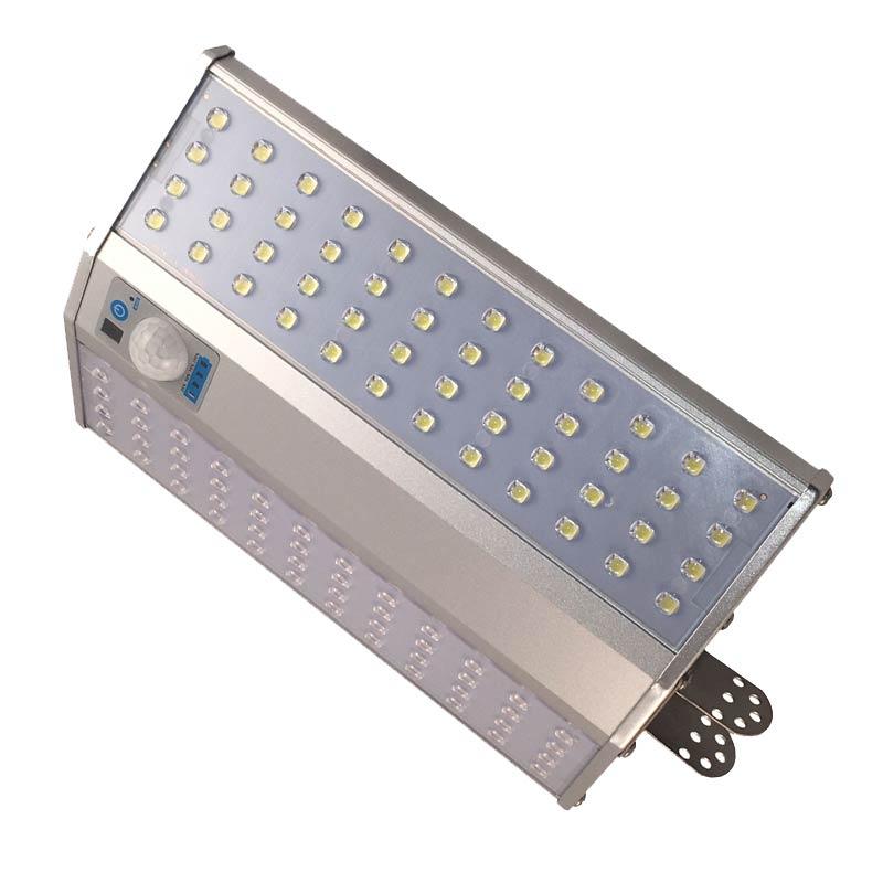 LED Solar High Powered 10 Watt Motion Sensor Light, 24 Foot Motion Detection, Massive 1500 Lumen, IP65, 6 Mode Remote, ID-950