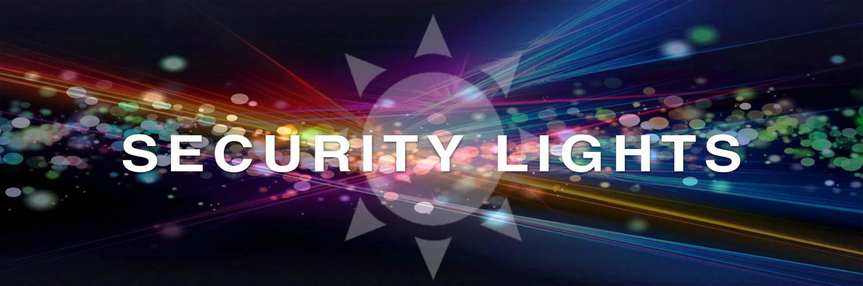 Security LED Solar Lights