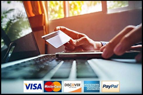 LED Solar Supply Credit Card Acceptance