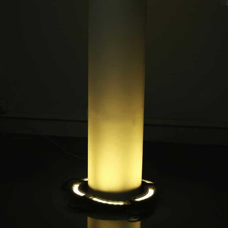 LED Solar Powered Tree Light, 20 Watts, 3300 Lumens, 30 Super Bright 1 Watt Pury LED's, Automatic Dusk to Dawn, ID-1032