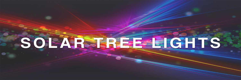 LED Solar Supply Tree Lights