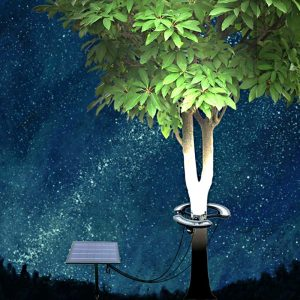LED Solar Powered Tree Light