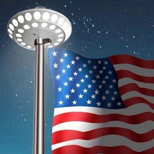 Flag Pole Down Light