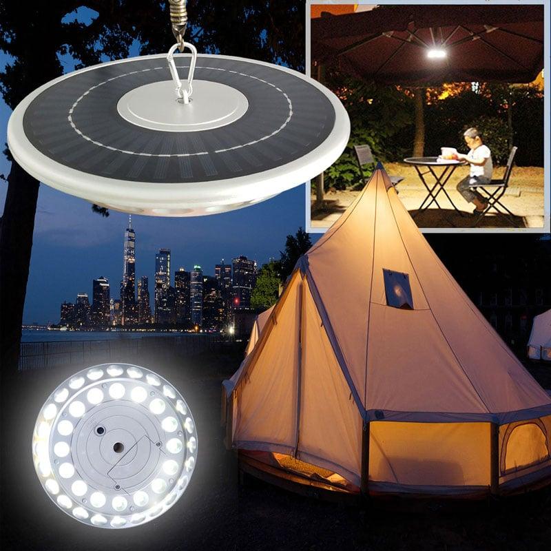 Solar Powered LED Flag Pole Light, 4 Watts, 600 Lumens, 40 High Output LED's, Automatic Dusk to Dawn, IP65, ID-1057