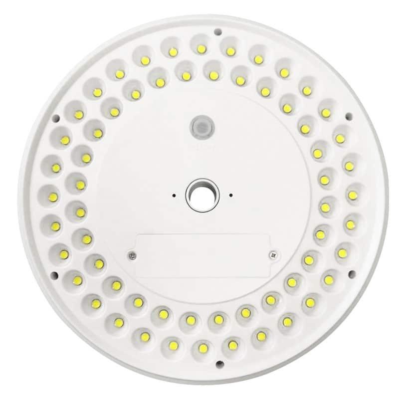 Solar Powered LED Flag Pole Light, 900 Lumens, 60 High Output LED's, Automatic Dusk to Dawn, 3 Brightness Modes, IP65, ID-1055
