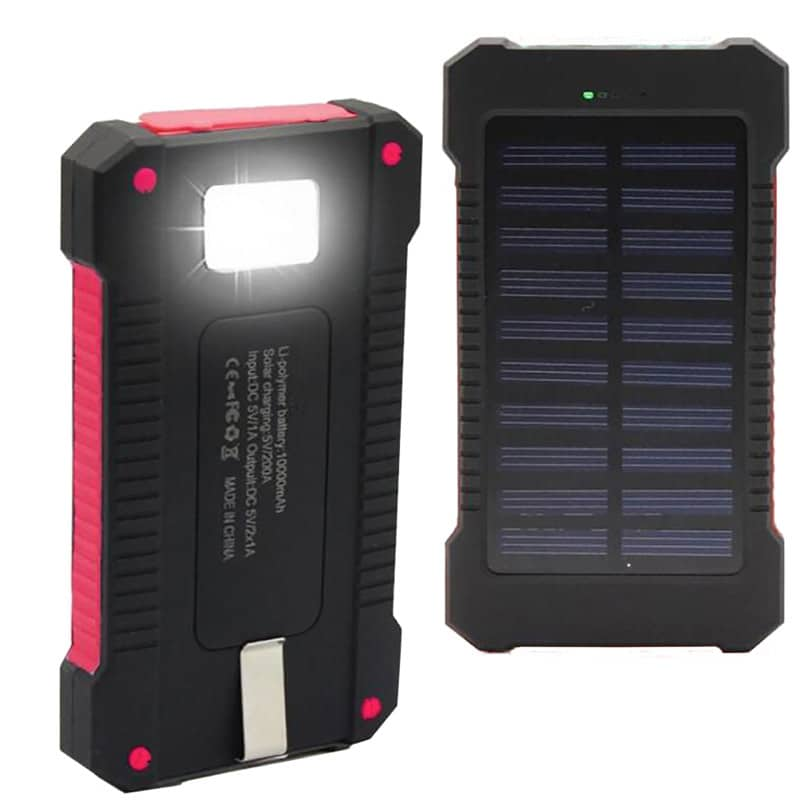 Solar Device Charger Back Side