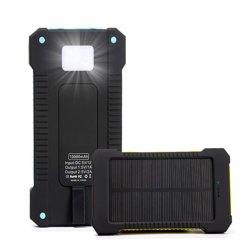 Solar Device Charger LED