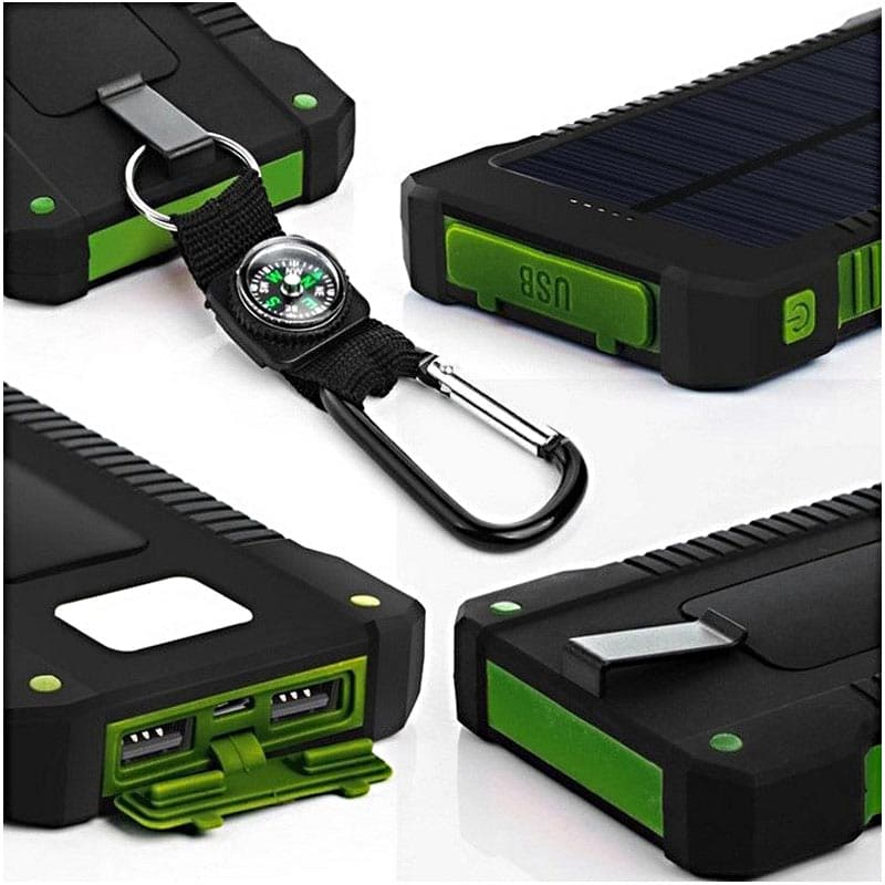 Solar Device Charger Green