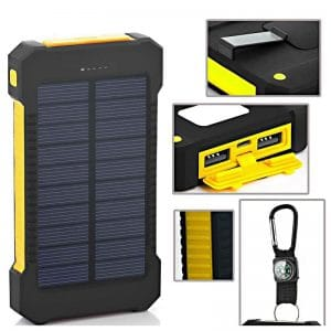 Solar Dual Port Device Charger