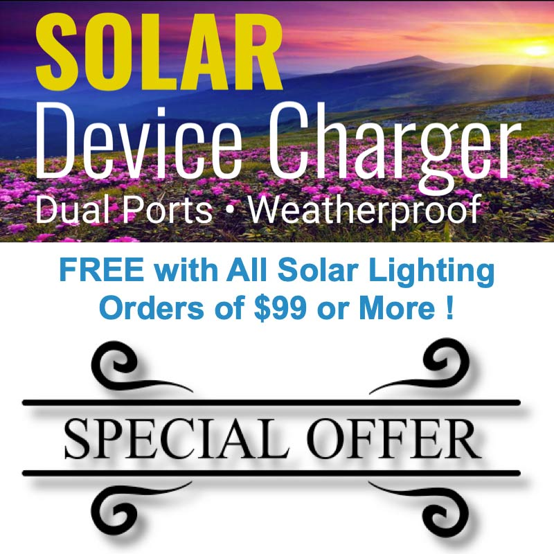 Solar Device Charger Special Offer