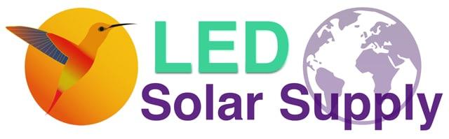 Sunbird World LED Solar Supply Logo