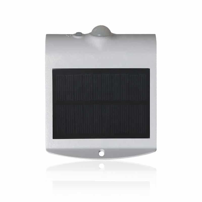 Solar LED 1.5 Watt Wall Light, 220 Lumens, IP65, 10 High Output 2835 LED's, Li-ion Battery, ID-1078