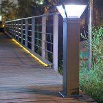 Solar Bollard Light 70W 500 Lumen ID 1022