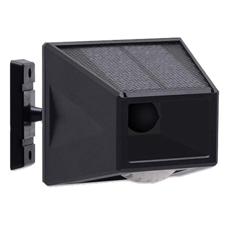 Solar LED Alarm Light, 360 Rotating, Motion Sensor, Smart Remote Control