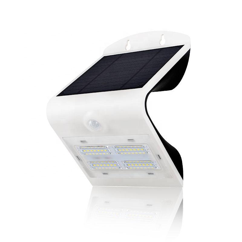 Solar LED 3.2 Watt  Butterfly Wall Light, 400 Lumens, IP65, 28 High Output 2835 LEDs, Li-ion Battery, 3 Year Warranty
