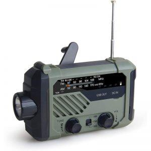 LED Solar Five Way Weather Radio